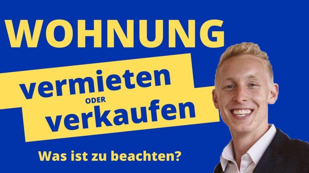 Wohnung vermieten oder verkaufen Berlin