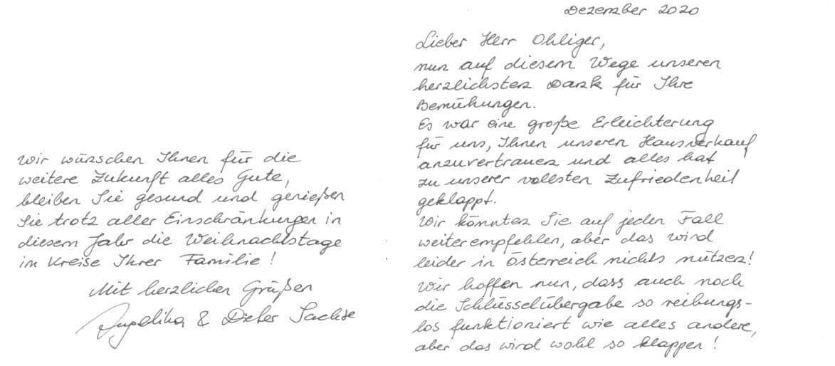 Referenz BHI Hesse Immobilien - Familie Sachse