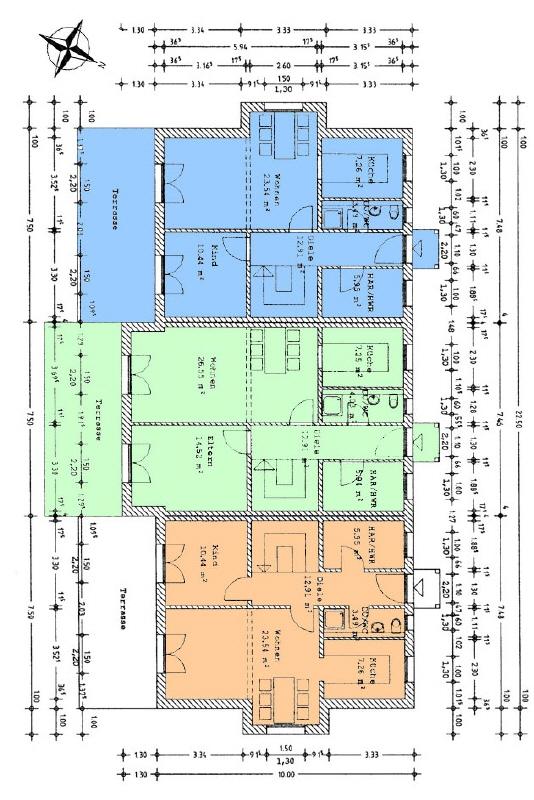 Grundrisse Erdgeschoss