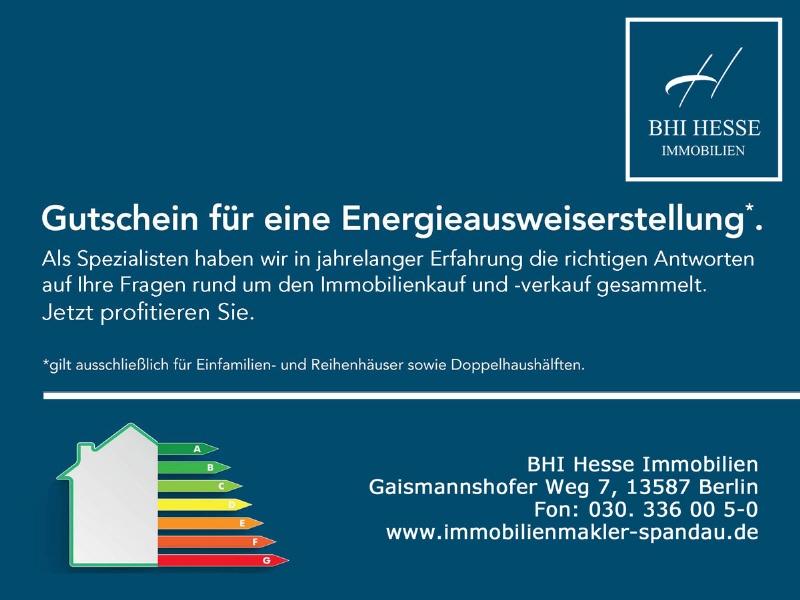 Energieausweis Gutschein