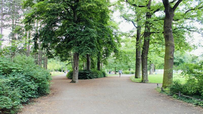 nahe gelegene Parkanlage